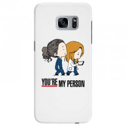 grey's anatomy you're my person Samsung Galaxy S7 Edge Case | Artistshot
