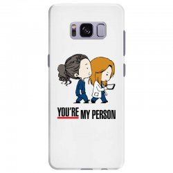 grey's anatomy you're my person Samsung Galaxy S8 Plus Case | Artistshot