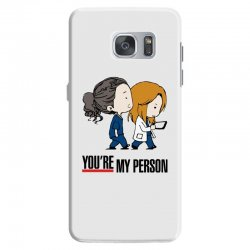 grey's anatomy you're my person Samsung Galaxy S7 Case | Artistshot