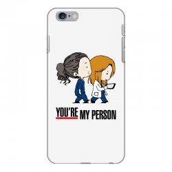 grey's anatomy you're my person iPhone 6 Plus/6s Plus Case | Artistshot