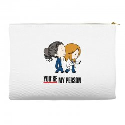 grey's anatomy you're my person Accessory Pouches | Artistshot