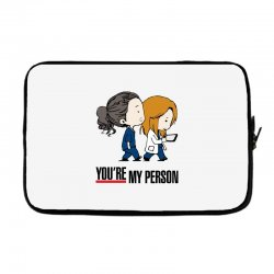 grey's anatomy you're my person Laptop sleeve | Artistshot