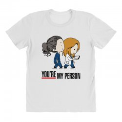 grey's anatomy you're my person All Over Women's T-shirt | Artistshot