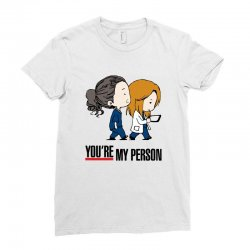 grey's anatomy you're my person Ladies Fitted T-Shirt | Artistshot