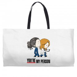 grey's anatomy you're my person Weekender Totes | Artistshot