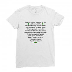 griswold rant Ladies Fitted T-Shirt | Artistshot