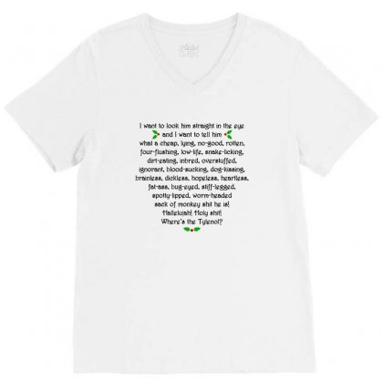 Griswold Rant V-neck Tee Designed By Tee Shop