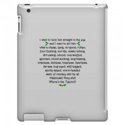 griswold rant iPad 3 and 4 Case | Artistshot