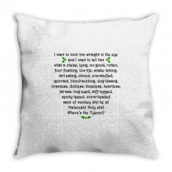 griswold rant Throw Pillow | Artistshot