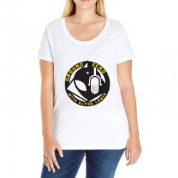 ground zero with clyde lewis Ladies Curvy T-Shirt | Artistshot