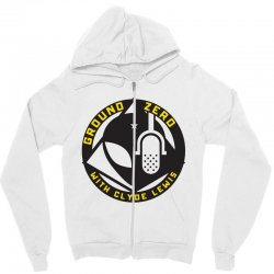 ground zero with clyde lewis Zipper Hoodie | Artistshot