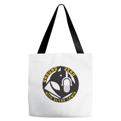 Ground Zero With Clyde Lewis Tote Bags Designed By Tee Shop