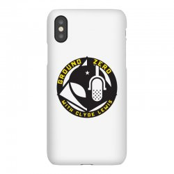 ground zero with clyde lewis iPhoneX Case | Artistshot