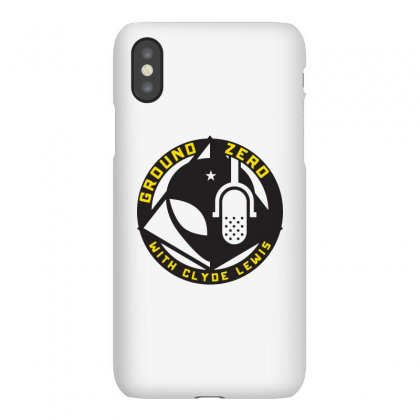 Ground Zero With Clyde Lewis Iphonex Case Designed By Tee Shop
