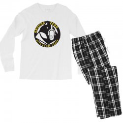 ground zero with clyde lewis Men's Long Sleeve Pajama Set | Artistshot
