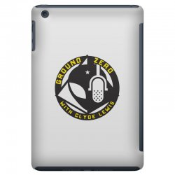 ground zero with clyde lewis iPad Mini Case | Artistshot
