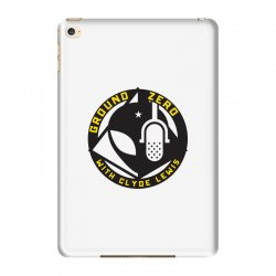 ground zero with clyde lewis iPad Mini 4 Case | Artistshot