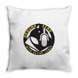 ground zero with clyde lewis Throw Pillow | Artistshot