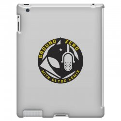 ground zero with clyde lewis iPad 3 and 4 Case | Artistshot