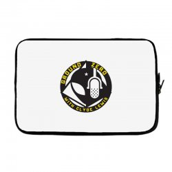ground zero with clyde lewis Laptop sleeve | Artistshot