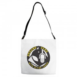 ground zero with clyde lewis Adjustable Strap Totes | Artistshot