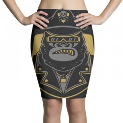 guardrilla gorilla Pencil Skirts | Artistshot