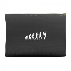 guitar player evolution funny Accessory Pouches | Artistshot