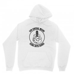 gun control means using both hands t shirt bear arms t shirt Unisex Hoodie | Artistshot