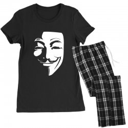 guy fawkes anonymous mask 2019 Women's Pajamas Set | Artistshot