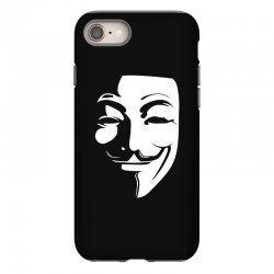 guy fawkes anonymous mask 2019 iPhone 8 Case | Artistshot