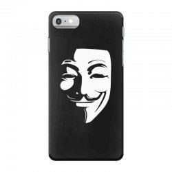 guy fawkes anonymous mask 2019 iPhone 7 Case | Artistshot