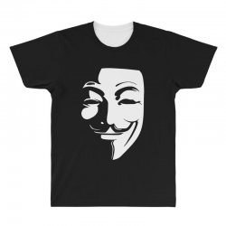 guy fawkes anonymous mask 2019 All Over Men's T-shirt | Artistshot