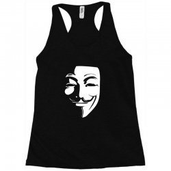 guy fawkes anonymous mask 2019 Racerback Tank | Artistshot