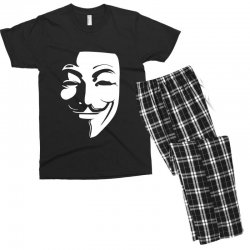 guy fawkes anonymous mask 2019 Men's T-shirt Pajama Set | Artistshot