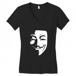guy fawkes anonymous mask 2019 Women's V-Neck T-Shirt | Artistshot