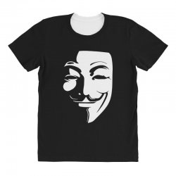 guy fawkes anonymous mask 2019 All Over Women's T-shirt | Artistshot