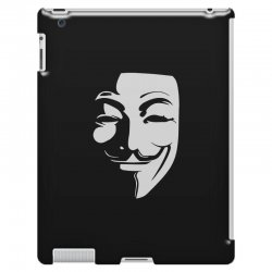 guy fawkes anonymous mask 2019 iPad 3 and 4 Case | Artistshot
