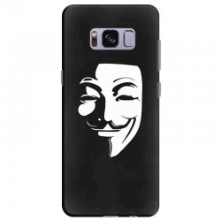 guy fawkes anonymous mask 2019 Samsung Galaxy S8 Plus Case | Artistshot