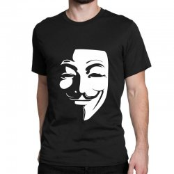 guy fawkes anonymous mask 2019 Classic T-shirt | Artistshot