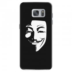 guy fawkes anonymous mask 2019 Samsung Galaxy S7 Case | Artistshot