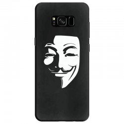 guy fawkes anonymous mask 2019 Samsung Galaxy S8 Case | Artistshot
