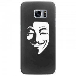 guy fawkes anonymous mask 2019 Samsung Galaxy S7 Edge Case | Artistshot