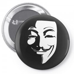 guy fawkes anonymous mask 2019 Pin-back button | Artistshot