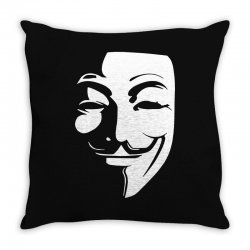 guy fawkes anonymous mask 2019 Throw Pillow | Artistshot