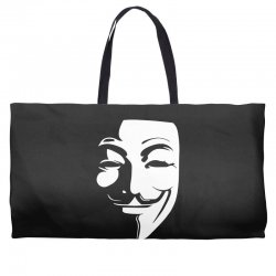 guy fawkes anonymous mask 2019 Weekender Totes | Artistshot