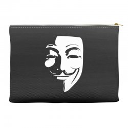 guy fawkes anonymous mask 2019 Accessory Pouches | Artistshot