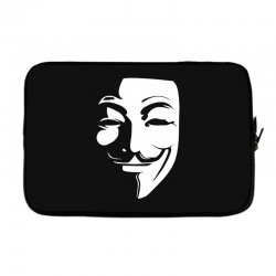 guy fawkes anonymous mask 2019 Laptop sleeve | Artistshot
