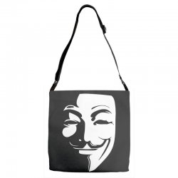 guy fawkes anonymous mask 2019 Adjustable Strap Totes | Artistshot