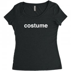 halloween costume Women's Triblend Scoop T-shirt | Artistshot