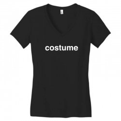 halloween costume Women's V-Neck T-Shirt | Artistshot